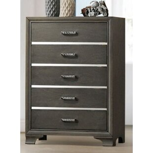 Ebern Designs Alexandro 5 Drawer Chest