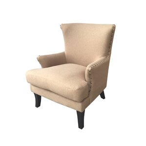 Ballimamore Mid Century Modern Wingback Chair by Alcott Hill