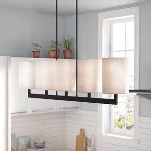 Mai Linear 5-Light Kitchen Island Pendant by Zipcode Design