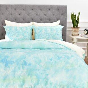 East Urban Home Sparkling Sea Duvet Cover Set
