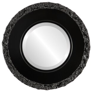 House of Hampton Wingard Framed Round Accent Mirror