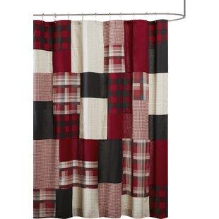 Winter Hills 100% Cotton Single Shower Curtain