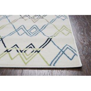 Melva Beige Indoor/Outdoor Area Rug By Ebern Designs