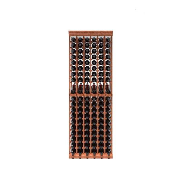 Rebrilliant Lurmont 120 Bottle Solid Wood Floor Wine Bottle Rack Wayfair
