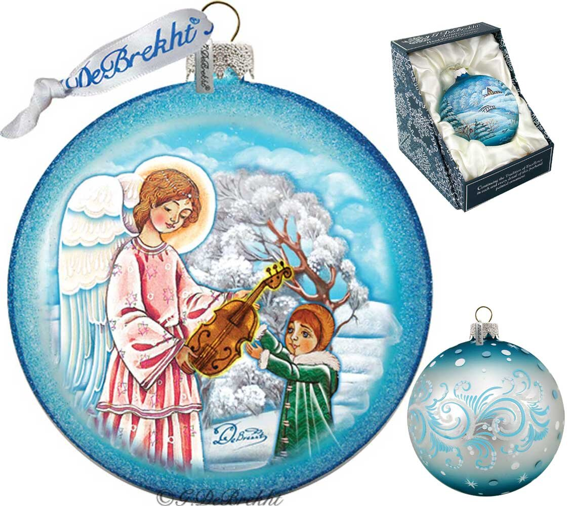 Angels Glass Christmas Ornaments You Ll Love In 2021 Wayfair