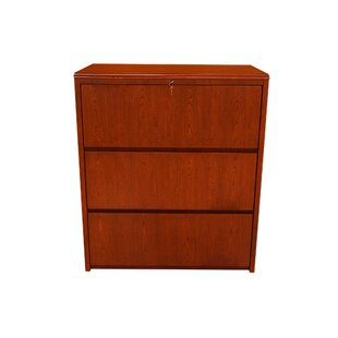Waterfall Series 3-Drawer Lateral File