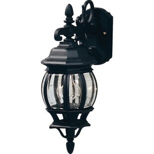 Reviews Glyndon 1-Light Outdoor Wall Lantern By Astoria Grand