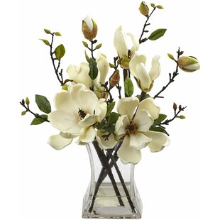 Magnolia Arrangement with Vase