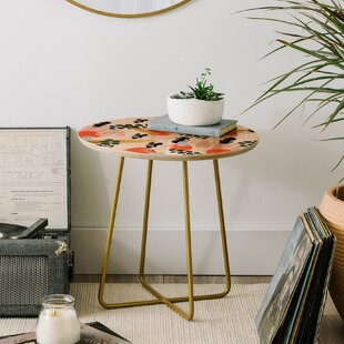 Affordable Marta Barragan Camarasa Brushstrokes II End Table by East Urban Home