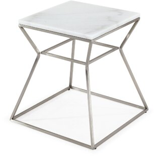 Billie Marble Nightstand by Everly Quinn