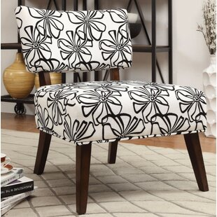 Frigon Armless Slipper Chair by Ebern Designs