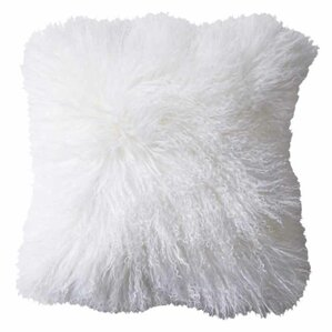 Deans Sheepskin Throw Pillow