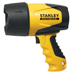 Stanley Fatmax Flashlight Waterproof - 600 Lumens - Rechargeable 230V And 12V - Heavy Duty Flashlight Image