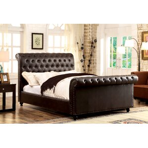 Beryl Upholstered Sleigh Bed by Darby Home Co