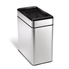 Black Bathroom Trash Cans Free Shipping Over 35 Wayfair