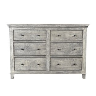 Darby Home Co Pharsalia 6 Drawer Double D..