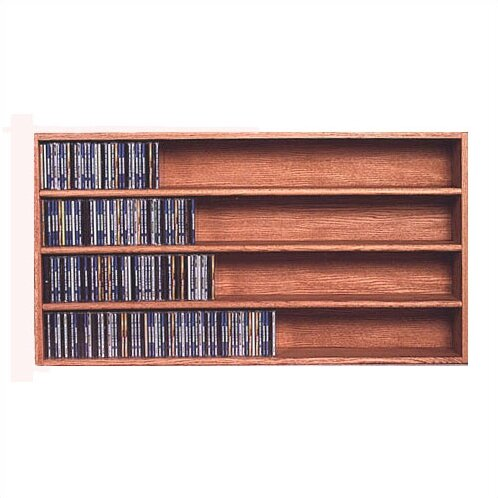 Bon 400 Series 472 CD Wall Mounted Multimedia Storage Rack