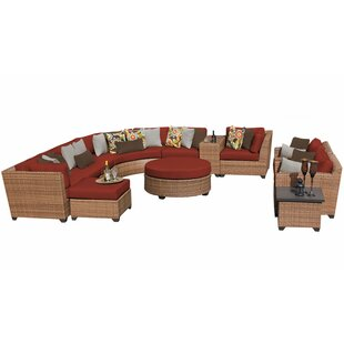 Waterbury 12 Piece Sectional Seating Group with Cushions