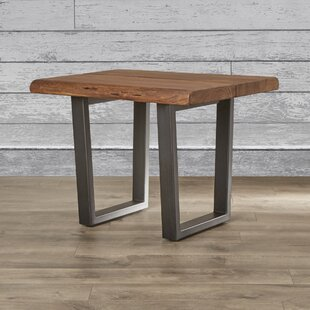 Union Rustic Sonnier End Table