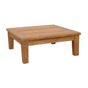 Anderson Teak Brianna Outdoor Teak Ottoman with Cushion