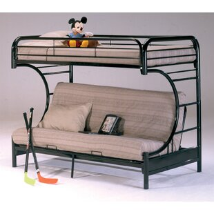 Low priced Dawnview Twin over Full Futon Bunk Bed by Harriet Bee Reviews (2019) & Buyer's Guide