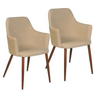 Burgoyne Upholstered Dining Chair (Set of..