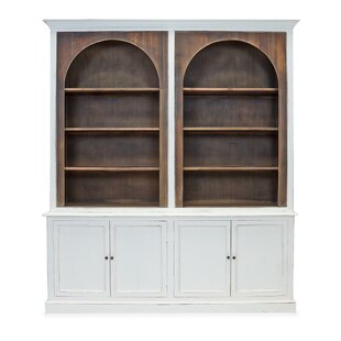 Carli Library Bookcase By Rosecliff Heights