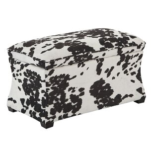 Udder Madness Hourglass Storage Ottoman by Ave Six