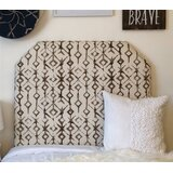 Hooley Extra Long Twin Upholstered Panel Headboard by Zoomie Kids