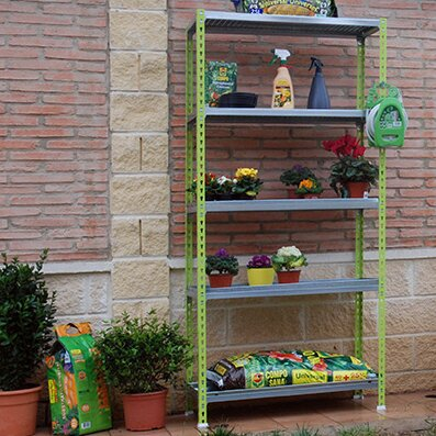 "Simon Rack Garden 70.9"" H x 35.4"" W Shelving Unit"