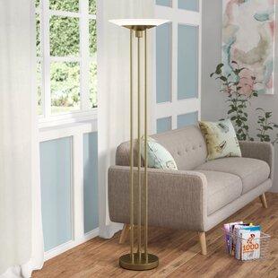 Laureldale 71 LED Torchiere Floor Lamp By Latitude Run Lamps