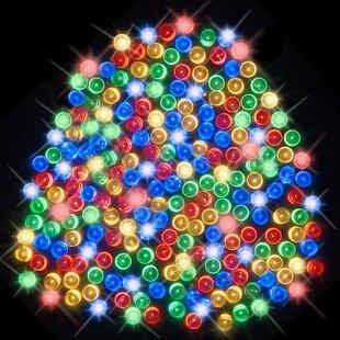 200 Multicolour LED Solar Fairy Lights By OE Lights