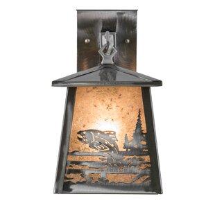 Buy clear 1-Light Outdoor Wall Lantern By Meyda Tiffany