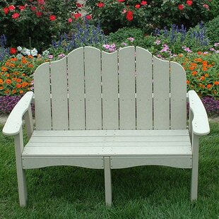 Traditional Adirondack Garden Bench by Tailwind Furniture