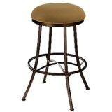 Hoyos Swivel Bar & Counter Stool by Red Barrel Studio®