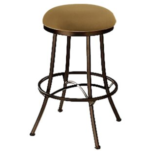 Hoyos Swivel Bar  Counter Stool by Red Barrel Studio