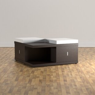 Affordable Price Ammar Coffee Table with Tray Top By Wade Logan