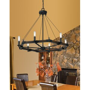 Aris 6-Light Candle-Style Chandelier