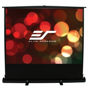 ezCinema Plus Series White Portable Projection Screen