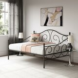 Mikayla Metal Scroll Daybed by Andover Mills™