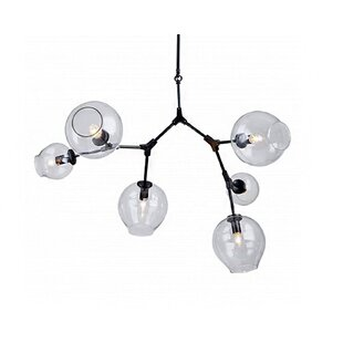Brayden Studio Lema 6-Light Sputnik Chandelier