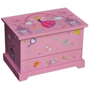 Traditional Girl's Musical Ballerina Jewelry Box
