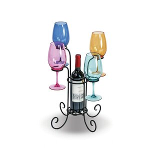 Hetzel Waterfall 1 Bottle Tabletop Wine G..