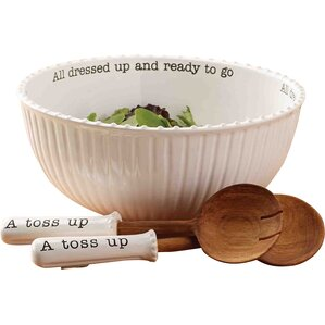 Ann 3-Piece Salad Bowl Set