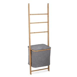 Siena Ladder Bamboo Laundry Basket By House Of Hampton