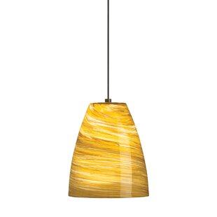 Tiella Sonya 1-Light Cone Pendant