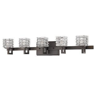 Affordable Keffer 5-Light Vanity Light By House of Hampton