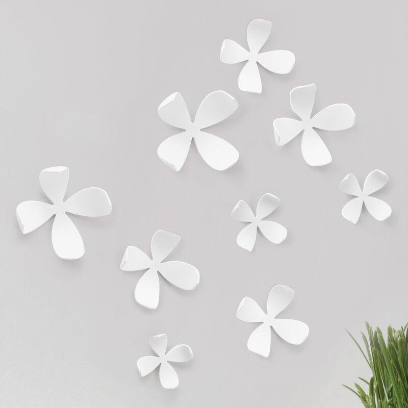 Umbra 10 Piece Wallflower Adhesive Wall Decor Set Reviews Wayfair