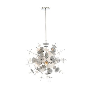 Orren Ellis Suai Retro 6-Light Chandelier