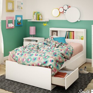 Compare Reevo Mate's and Captain's Bed with Bookcase Headboard BySouth Shore